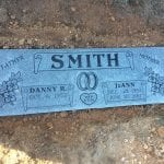 Companion Flat Grave Marker Memorial Design Inspiration