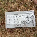 Single Flat Grave Marker Design Inspiration